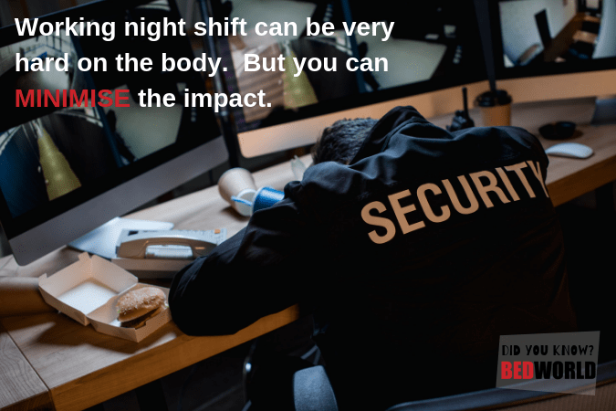 sleep better if you work night shift