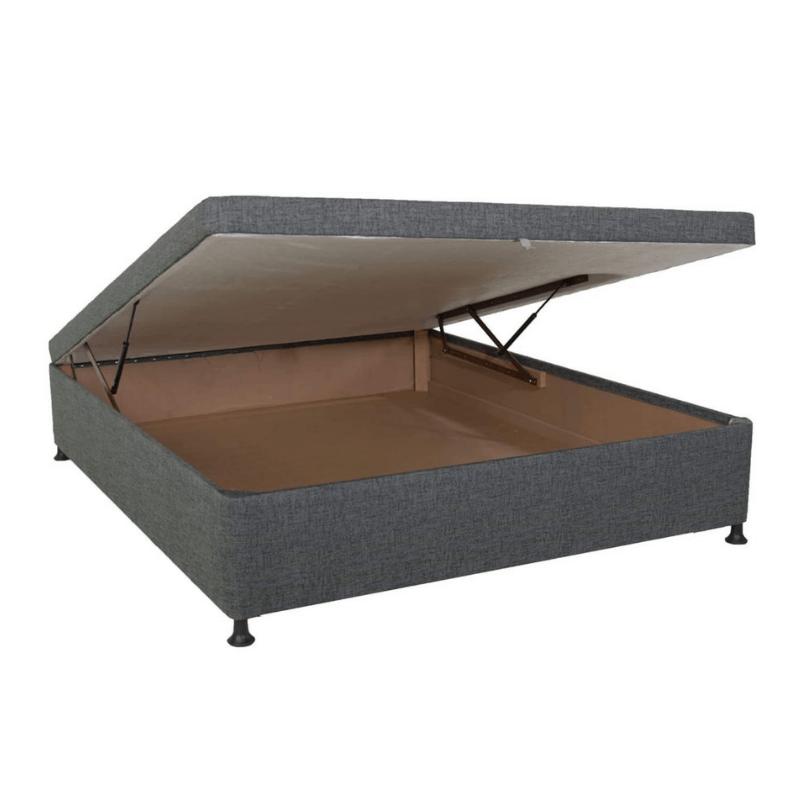 3/4 Flip Top Storage Base