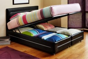 bed base with storage