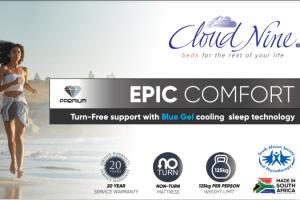 Epic Comfort from Cloud Nine